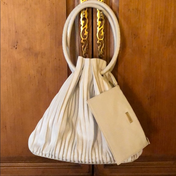 Giorgio Armani Bags   Pleated Bucket Bag   Poshmark 216f12d3db